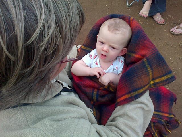 Camping With Granny Taytothta Blipfoto